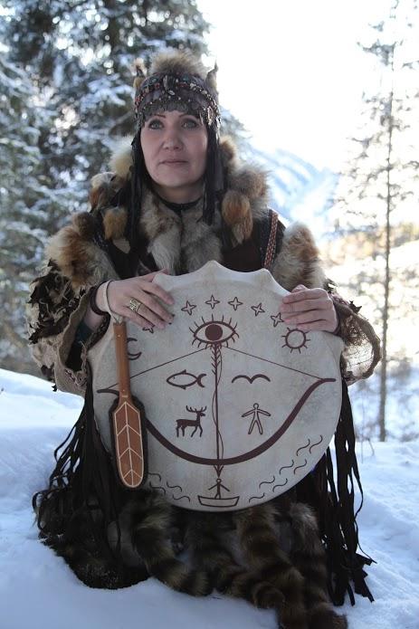 Алла Громова, белая шаманка