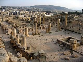 город Джераш, античность,