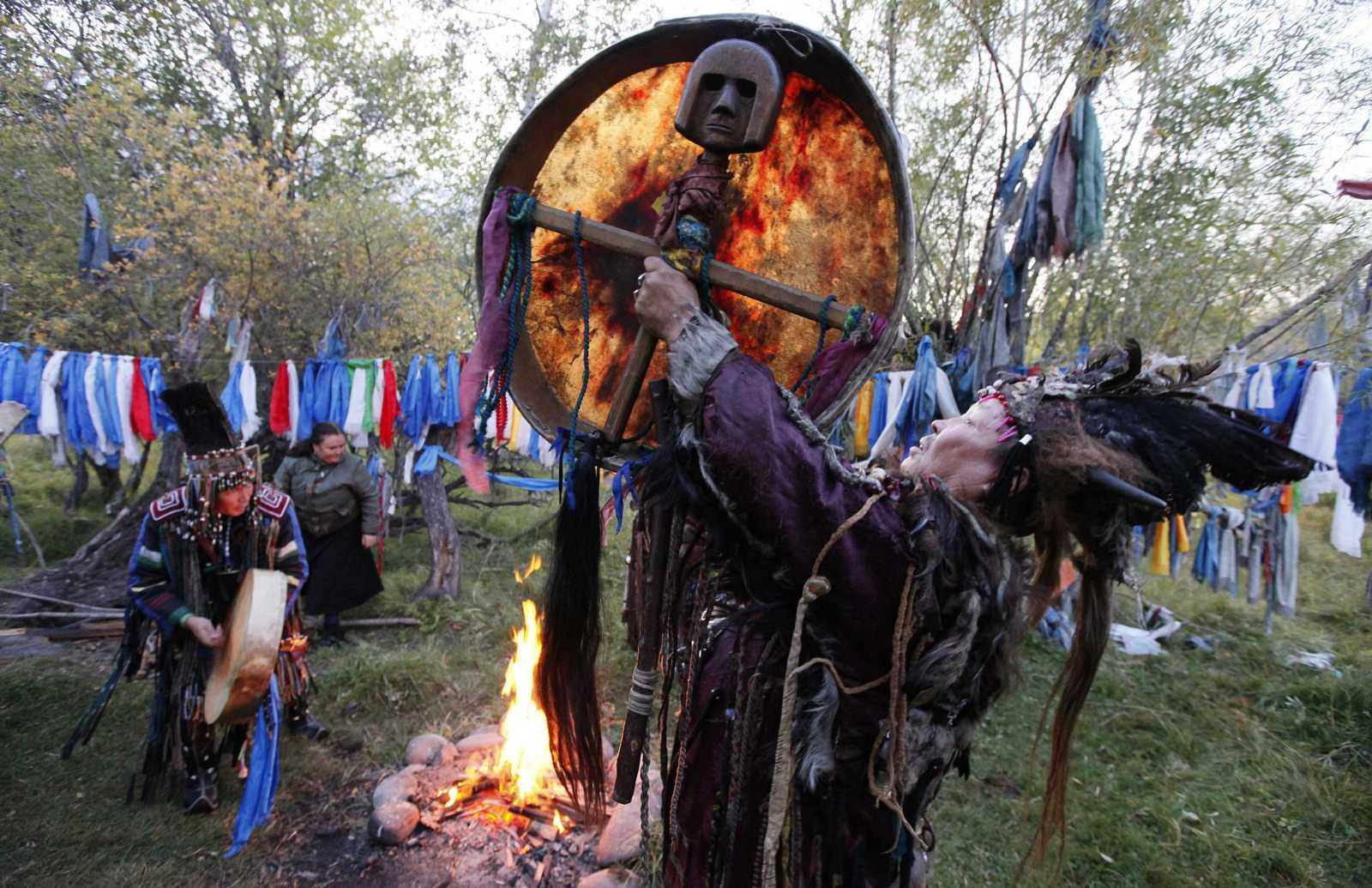 Сила магии сибирских шаманов