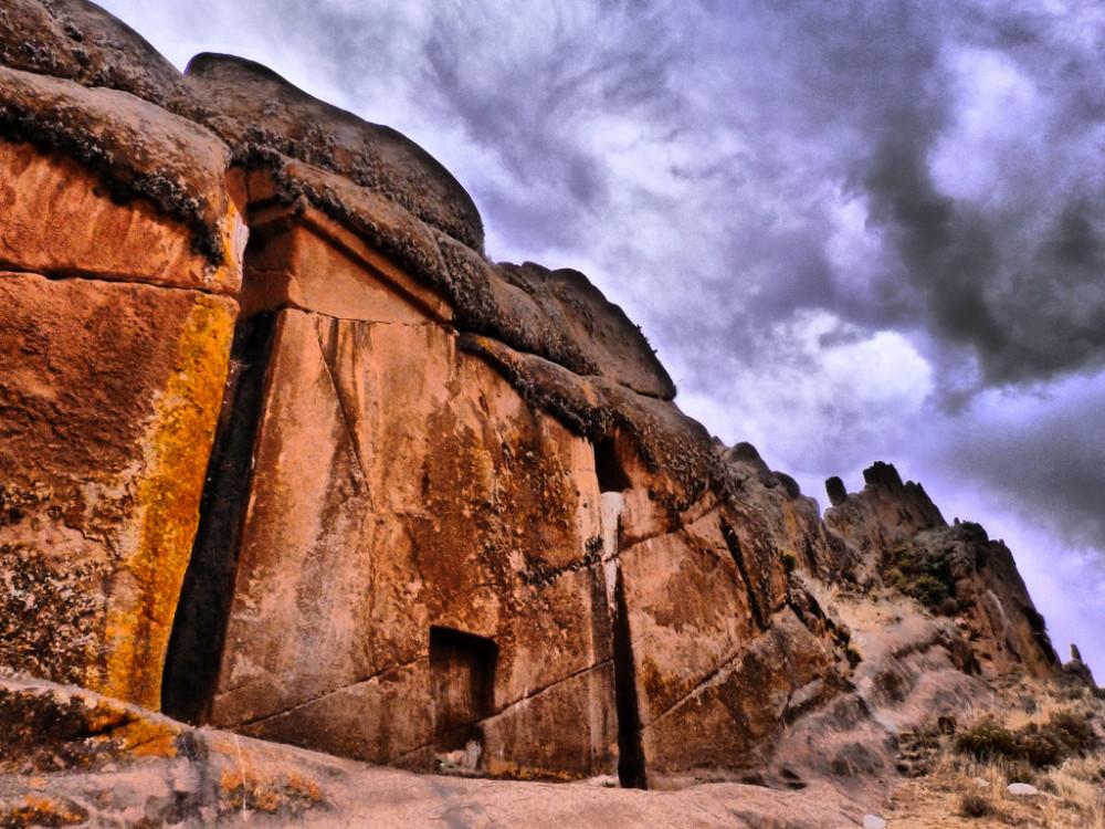 Врата богов в Перу