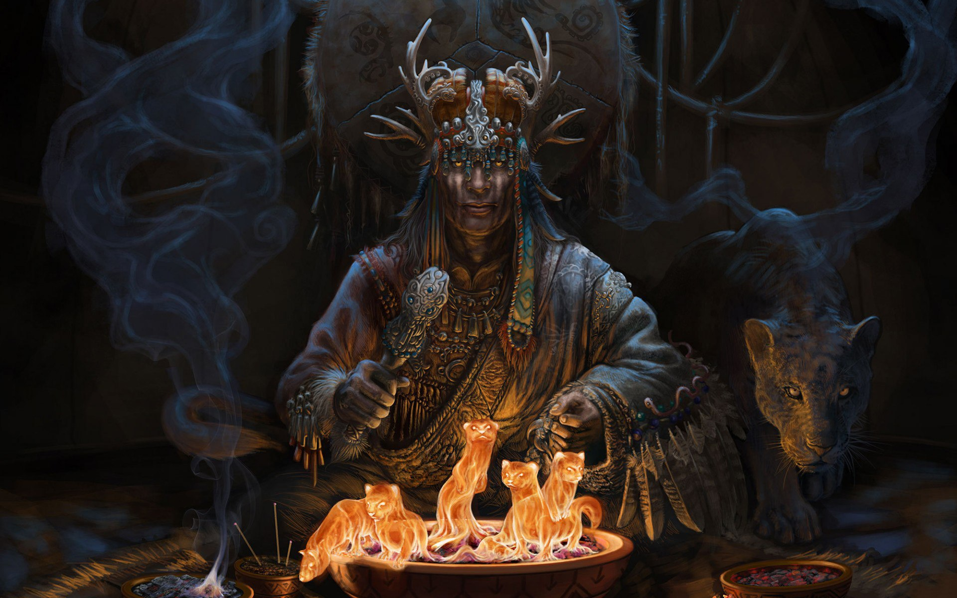 транс шамана